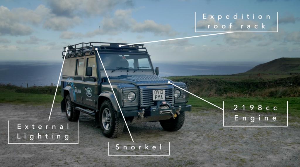 Land Rover Marin >> The Land Rover Marine Defender Monty Halls Ltd